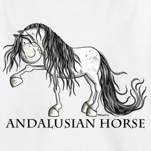 Andalusiër Paard Shirts - Teenager T-shirt