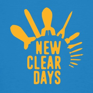 New Clear Days - Men's Organic T-shirt