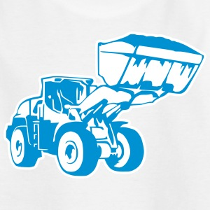 Radlader, Wheel Loader (2 color) T-Shirts - Teenager T-Shirt