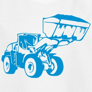 Radlader, Wheel Loader (1 color) Shirts - Kids' T-Shirt