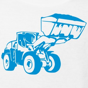 Radlader, Wheel Loader (1 color) T-Shirts - Kinder Bio-T-Shirt