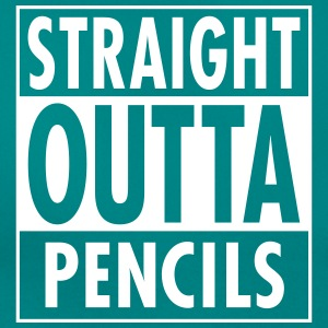 Straight Outta Pencils Camisetas - Camiseta mujer