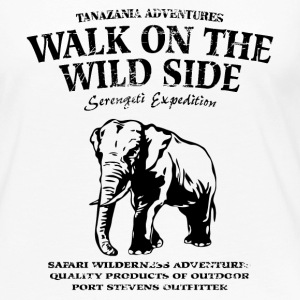 Walk on the wild side - Elephant - Elefant Langarmshirts - Frauen Premium Langarmshirt