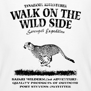 Walk on the wild side - Gepard T-Shirts - Männer Bio-T-Shirt