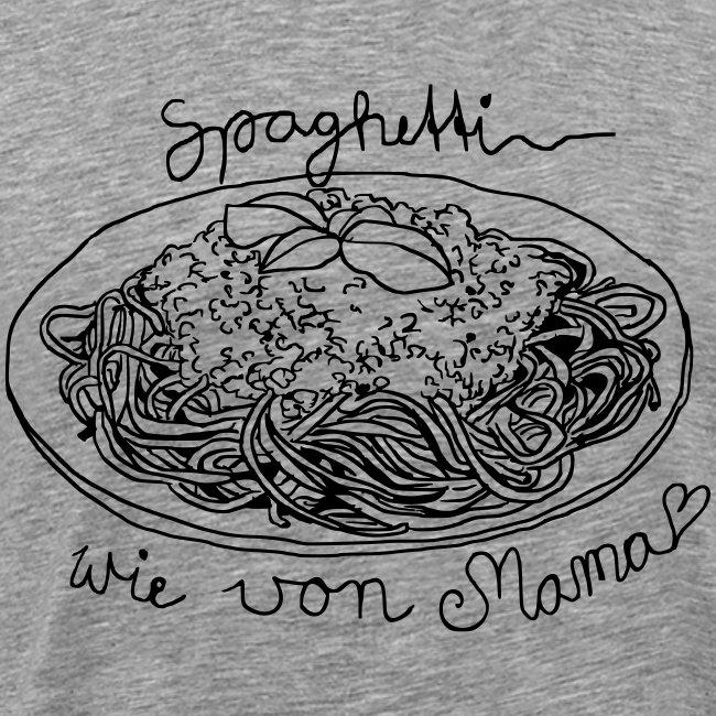 Spaghetti wie von Mama grau Boys