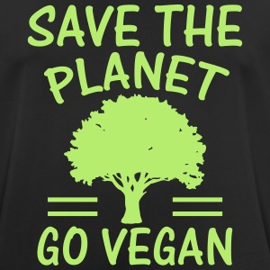 SAVE THE PLANET - BECOME VEGANS! T-Shirts - Men's Breathable T-Shirt