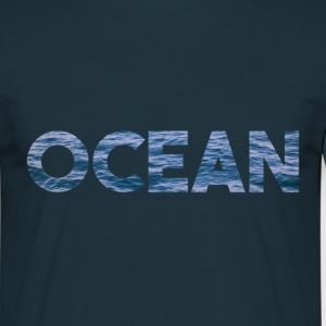 Ocean water blue sea - Men's T-Shirt