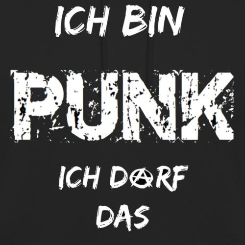 Ich bin Punk, ich darf das