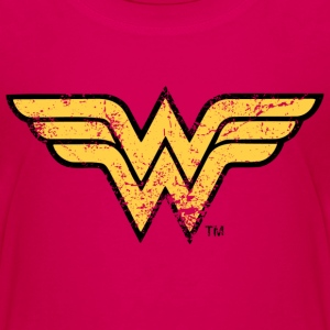 Wonder Woman Logo vintage - Kinderen Premium T-shirt