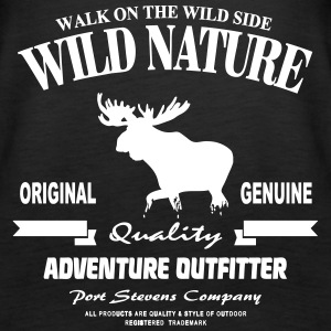 Wild Nature - Moose - Elch Tops - Frauen Premium Tank Top