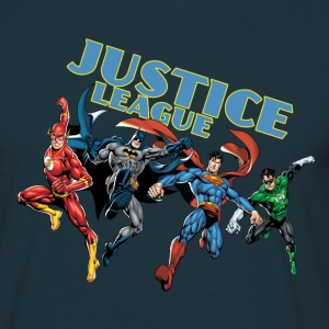 Justice League Character Mix - Mannen T-shirt