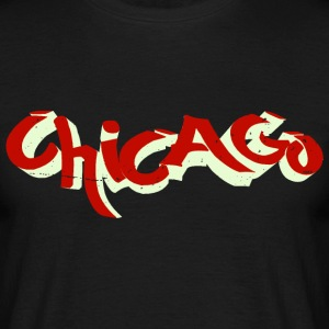 chicago graffiti T-Shirts - Männer T-Shirt