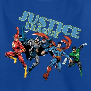 Justice League Character Mix - Teenager T-Shirt