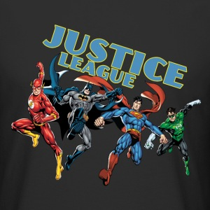 Justice League Character Mix - T-shirt long homme