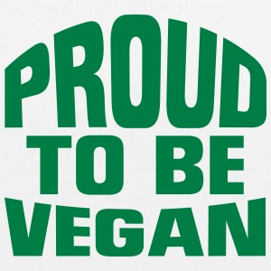 PROUD VEGAN! Bags & Backpacks - EarthPositive Tote Bag