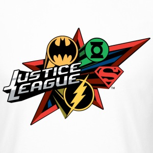 Justice League Logo Mix - Mannen Urban longshirt