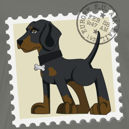Dobermann francobollo