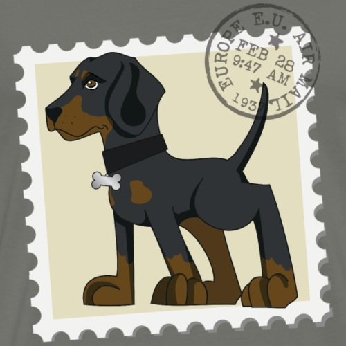 Dobermann francobollo
