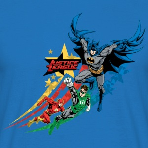 Justice League Power Stars - T-shirt Homme