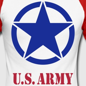 US Army 07 Manches longues - T-shirt baseball manches longues Homme