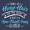 Glitter New-Forest-Pony  T-Shirts - Frauen Premium T-Shirt