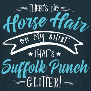 Glitter Suffolk Punch  T-Shirts - Männer T-Shirt