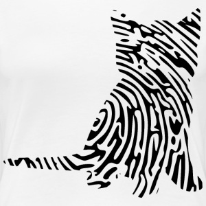Girly-Shirt - Kittenprint - Frauen Premium T-Shirt