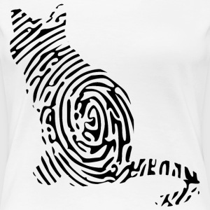 Girly-Shirt - Catprint - Frauen Premium T-Shirt