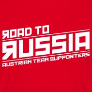 Road To Russa – Retro Shirt mit Terminen auf Rückseite