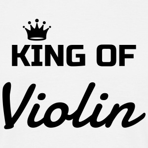 fiol violinist musik musiker band T-shirts - T-shirt herr