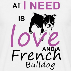 French Bulldog - Men's T-Shirt