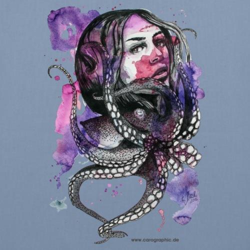 octopus oktopus portrait by carographic