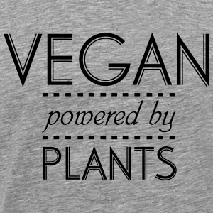 VEGAN powered by Nature T-Shirts - Men's Premium T-Shirt