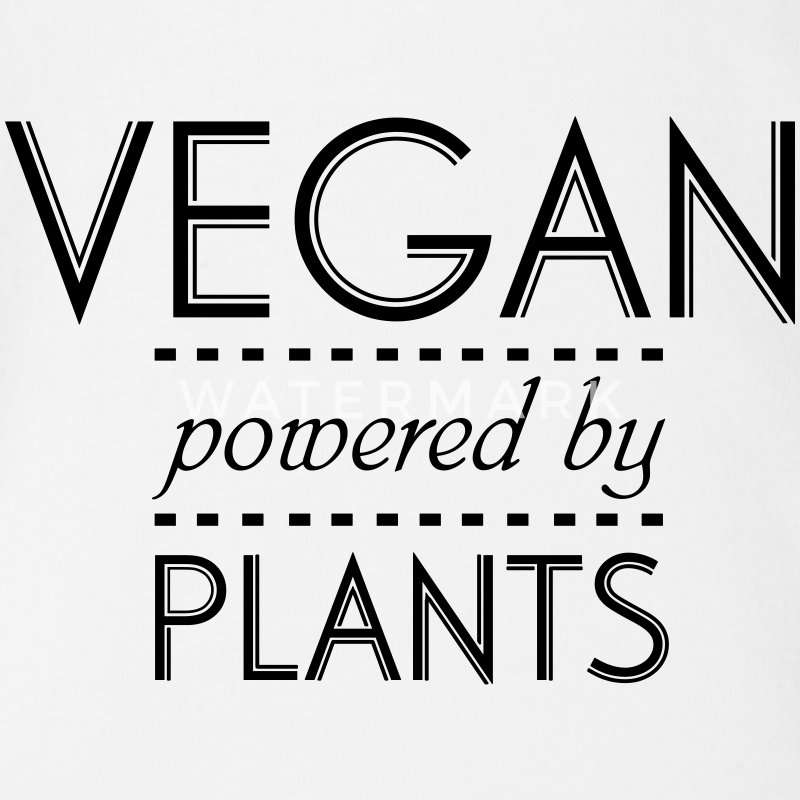 VEGAN powered by Nature Babybody - Ekologisk kortärmad babybody