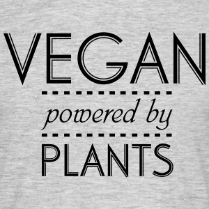 VEGAN powered by Nature Magliette - Maglietta da uomo