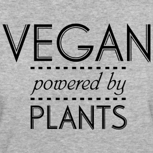 VEGAN powered by Nature T-skjorter - Økologisk T-skjorte for kvinner