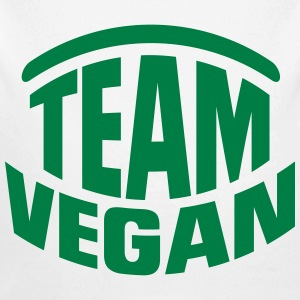 TEAM VEGAN! Baby Bodys - Baby Bio-Langarm-Body