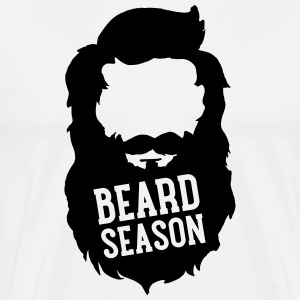 Beard Season T-shirts - Herre premium T-shirt