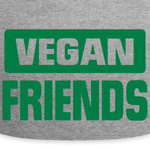 VEGAN FRIEND! Caps & Hats - Jersey Beanie