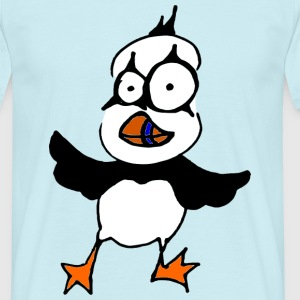 freaky puffin T-Shirts - Männer T-Shirt