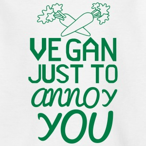 VEGAN - ONLY TO YOU TO NERVE! Shirts - Kids' T-Shirt