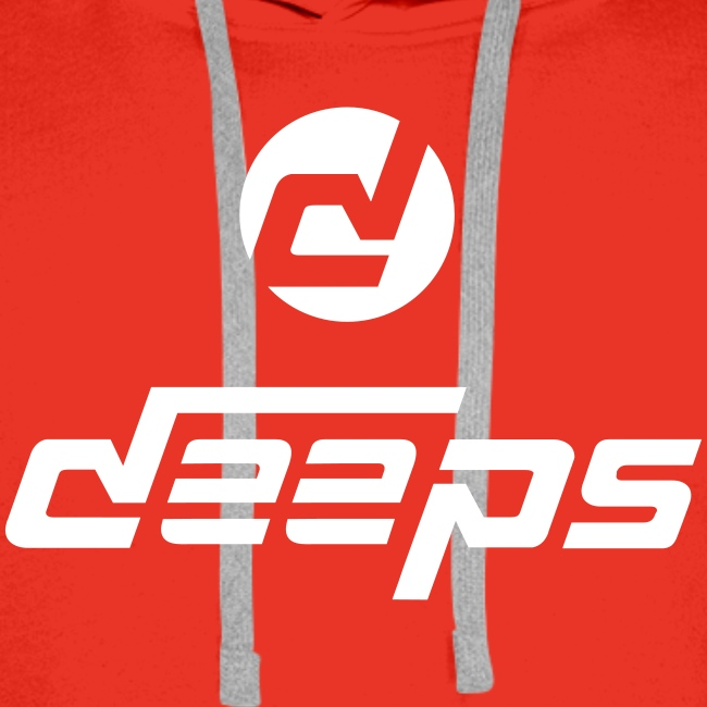 Deeps hoodie logo blanc