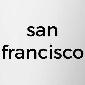 san francisco mug - white - Tasse