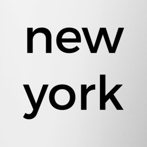 new york mug - white - Tasse