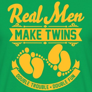 Real Men make Twins T-Shirts - Männer T-Shirt
