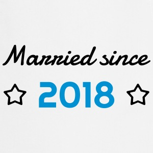 2018 - Birthday Wedding - Marriage - Love - Wife Kookschorten - Keukenschort