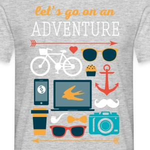 Hip adventure Traveling T Shirt T-Shirts - Men's T-Shirt