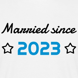 2023 - Birthday Wedding - Marriage - Love - Wife T-shirts - Herre-T-shirt