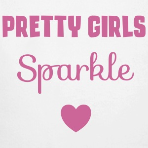 Pretty Girls Sparkle Baby Bodysuits - Longlseeve Baby Bodysuit