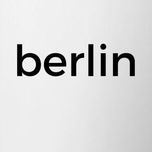 berlin mug - white - Tasse